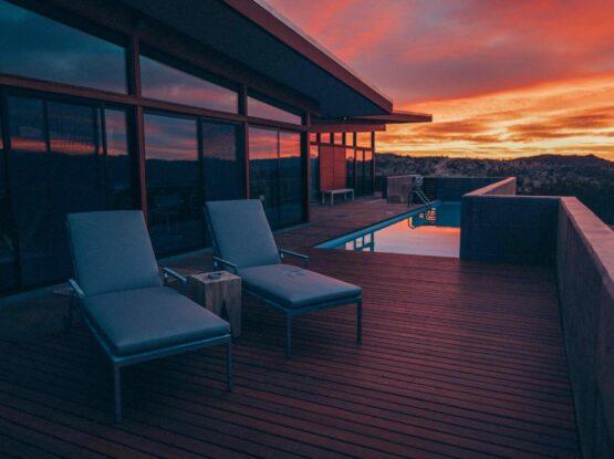 Calgary pool deck